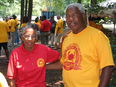 William & Sallie Carter Reunion 2006 Picnic