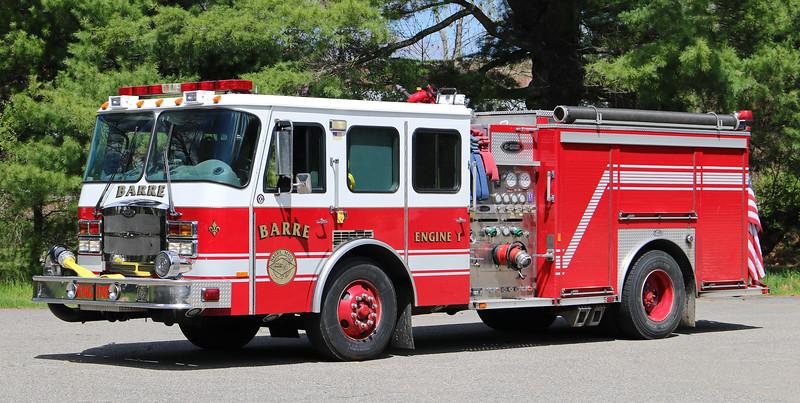 Engine 1.  2002 E-One Typhoon.  1250 / 500.  Ex Mass Fire Academy
