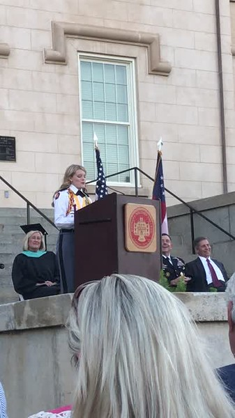 Meg Valedictorian Speech