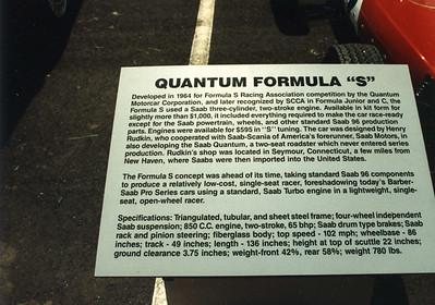 "Quantum 4 ""Formula S"" - in period"