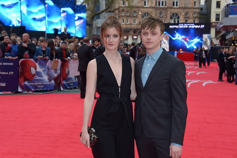 . Actress Anna Wood and actor Dane DeHaan pose for photographers as they arrive on the red carpet for the world premiere of The Amazing Spider-Man 2 in Leicester Square, London, Thursday April 10, 2014. (Photo by Jon Furniss/Invision/AP)