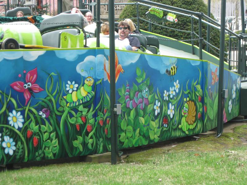New Caterpillar mural.