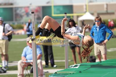 High Jump Women - 2013 Horizon League Outdoor Championships