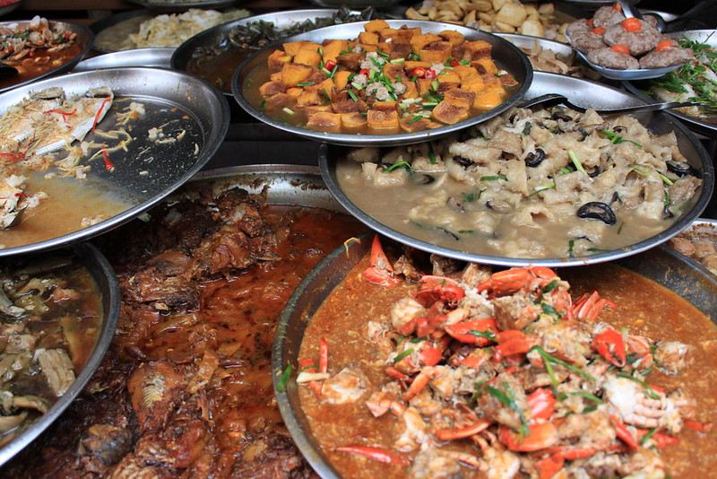 Some food in Bangkok's Chinatown