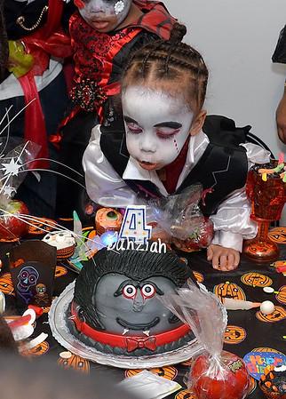 10/26/13 Dahziah Halloween Bday Bash
