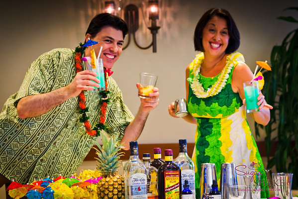 Cheers to tiki! © 2012 Sugar + Shake