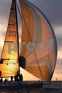 California Yacht Club  Wednesday night race 4/13/16