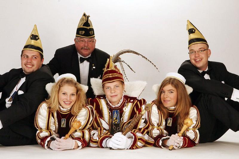 Kabinet Jeugdprins Joep den Eerste  met Chefke P.