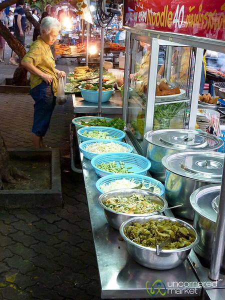 Night Market in Nathon - Koh Samui, Thailand