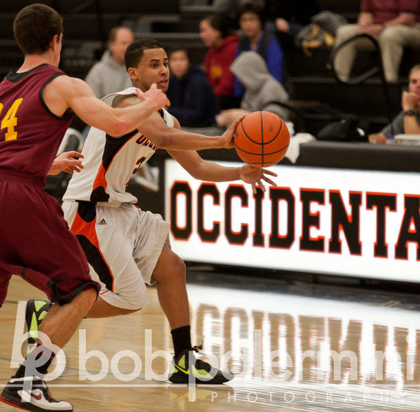 Occidental BB vs Claremont-Mudd-Scripps 2-18-12