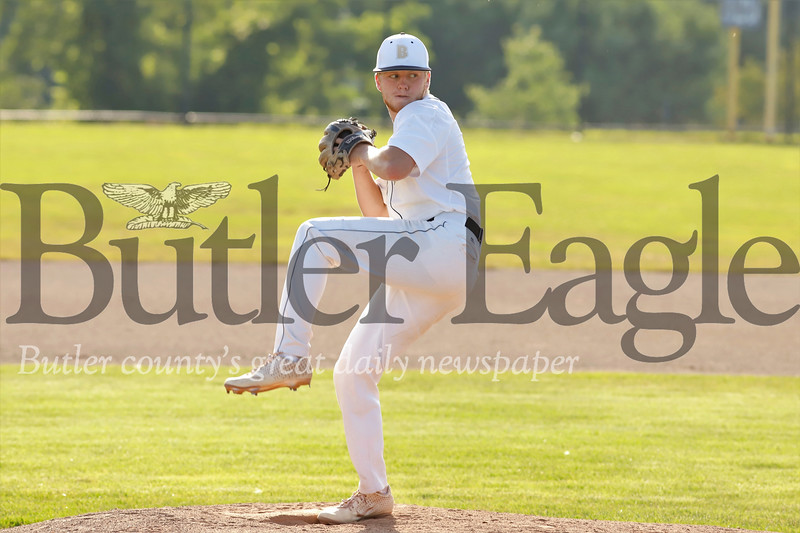 Butler starting pitcher Ryan Lynn. Seb Foltz/Butler Eagle