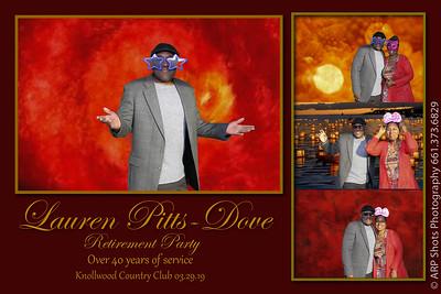 Lauren Pitts-Dove Retirement Party 3.29.19