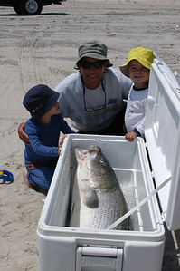 My friend's kids were amazed at this fish, so was I......52lbs 14oz