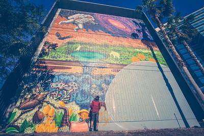 Shaun Thurston Muralist, Jacksonville, Florida