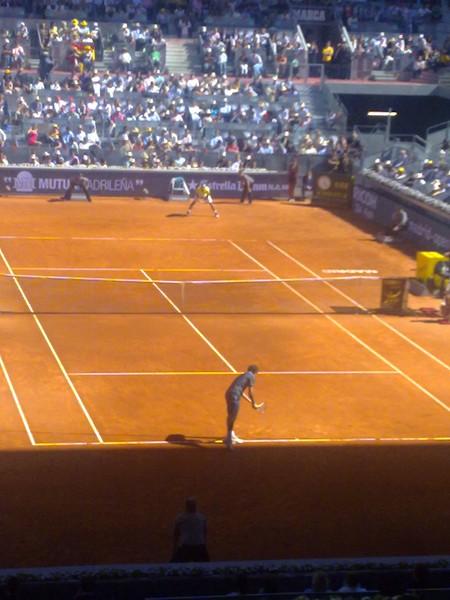 Fed v Nadal Madrid 2009