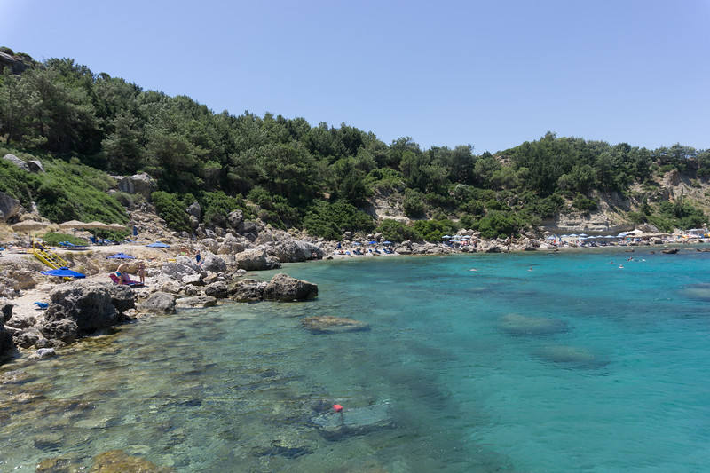 June 2019 - Anthony Quinn Bay, Rhodes, Greece