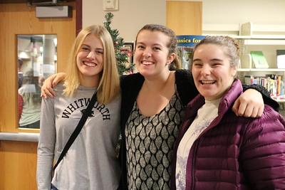 Alumni at Holiday Feast 12-19-18