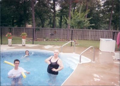 Girls at Pool 2002