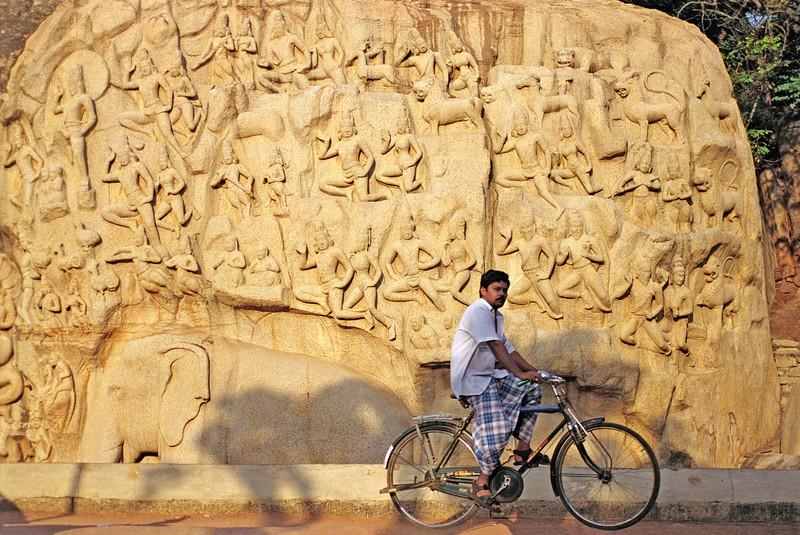 Arjuna's Penance, Mahabalipuram