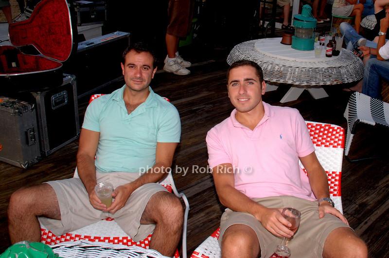 Peter Laufer and Ben Friedler
