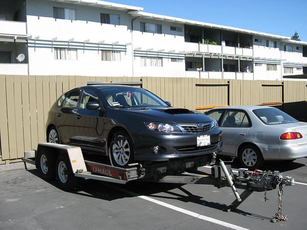 Subaru Hauler Incident