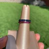 Art Deco Sapphire and Ruby Matched Bands, by Tiffany & Co 9