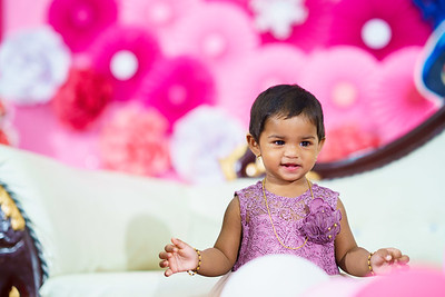Maanvi 1st Birthday