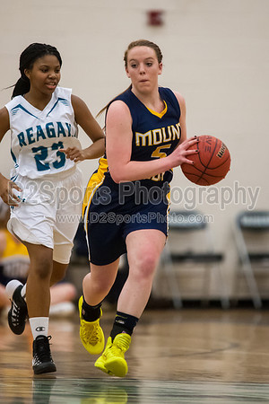 Mt Tabor Spartans vs Reagan Raiders Women's Varsity Basketball 2/11/2014