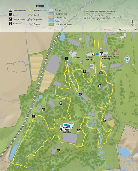 Saratoga Spa State Park (Five Mile Trail)