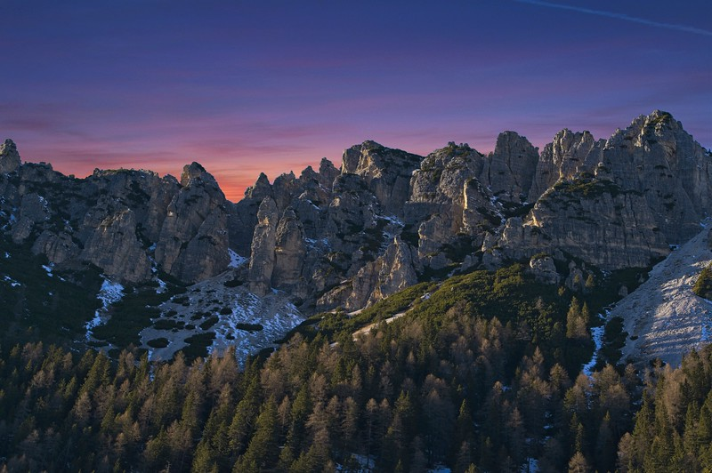 Monte Cristallo sunset
