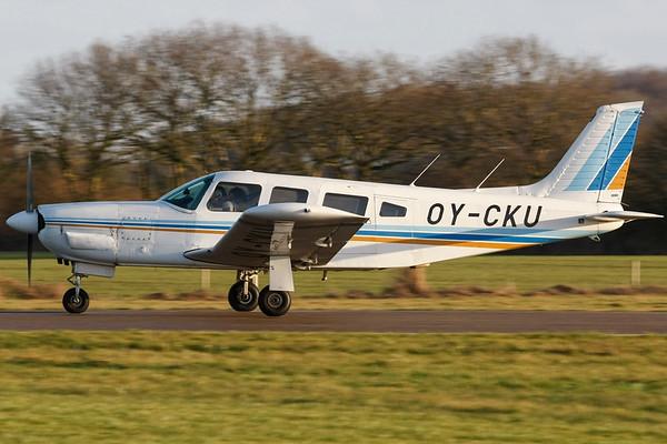 OY-CKU - Piper PA-32R-300 Cherokee Lance