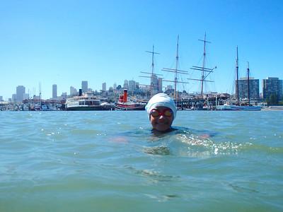Sunday Swim with Pedro 6.1.14