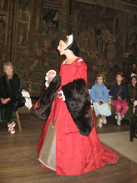 Actress portraying Anne Herbert, sister of Catherine Parr