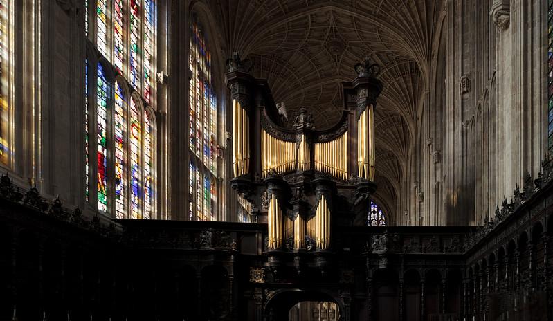 Organ of King's College, Cambridge (Sep 2009)