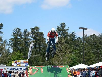 Bike Stunt Exhibition at Tour de Georgia