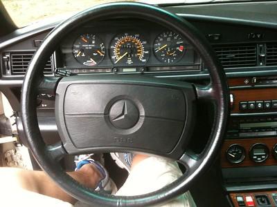 090711 - steering wheel swap