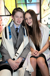 B'Nai Mitzvah of Landon and Lyla