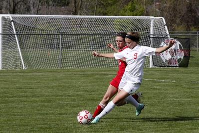 Girls JV Soccer - 5/17/2016 Big Rapids