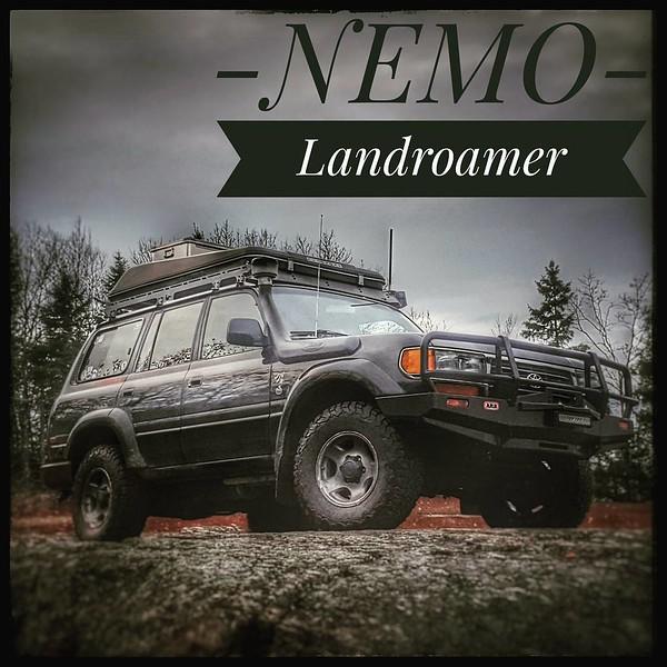 Nemo..the Landroamer  #overland #toyota #4x4 #expo