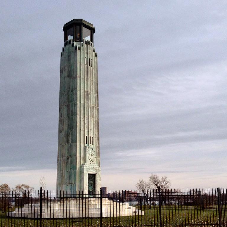 . Livingstone Lighthouse on Belle Isle in Detroit. (Holly Mahaffey/Digital First Media)