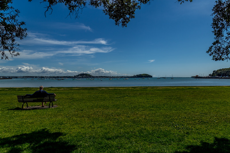 Entspannen an der Hobson Bay