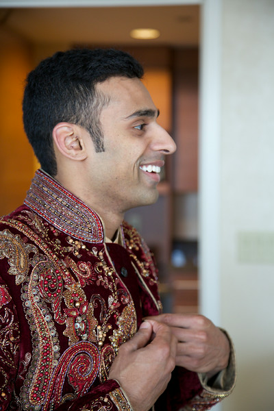 Le Cape Weddings - Indian Wedding - Day 4 - Megan and Karthik Groom Getting Ready 11.jpg