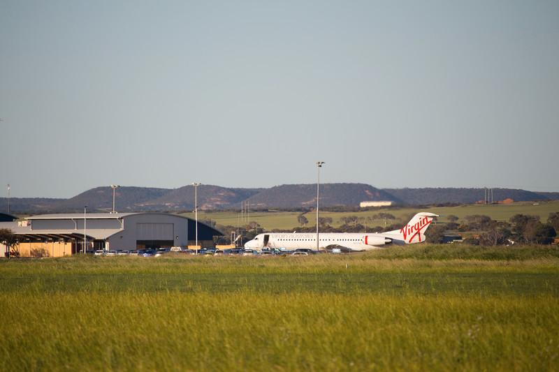 F100 at Geraldton Airport