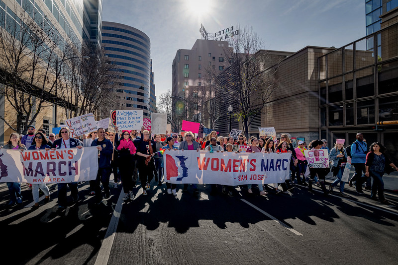 Women's March 2019 San Jose (Alfred Leung)
