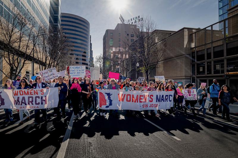 Women's March 2019 San Jose (Alfred Leung)