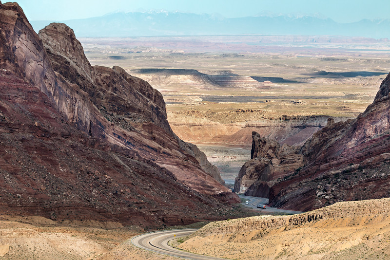 Southern Utah desert, view from San Rafael Reef