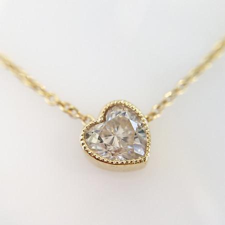 .51ct Heart Shape Askew Diamond Pendant