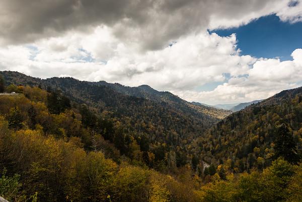Gatlinburg TN and Smoky Mountains NP 10-2017