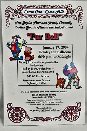1-17-2004 Fur Ball @ Joplin Humane Society