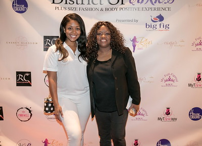 Red Carpet - 2018 - District Of Curves: DC Full Figured Fashion Showcase